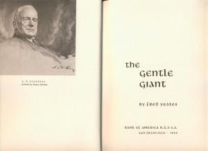 Książka poświęcona Gianniniemu wydana 5 lat po jego śmierci. Reprodukcja obrazu Norblina przedstawia nieznaną wersję obrazu.