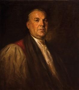 Portret Karla Morgana Blocka, olej na płótnie, obecnie w zbiorach Muzeum Regionalnego w Stalowej Woli